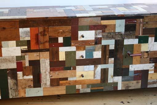 """Waste cabinet"" de Piet Hein Eek"