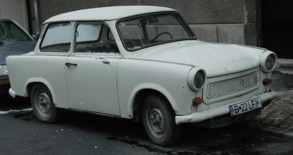 La Trabant originale, un modèle de rationalisation technique, pas éco-friendly pour autant…