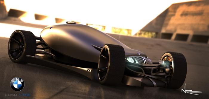 BMW M3 par Daniel Nikonchik : la mort de Carglass.