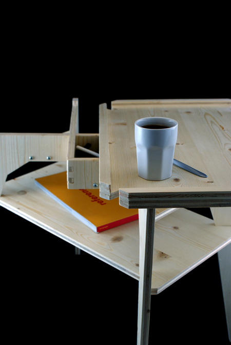 Kalaku-eko, une table basse signée Béô Design